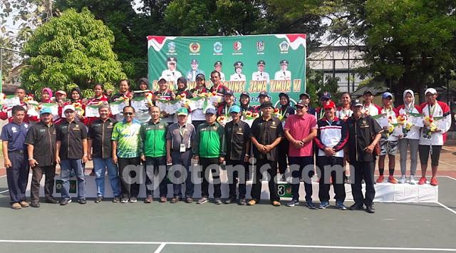 Tenis Porprov Jatim VI: Emas Beregu Putri Jadi Milik Kota Surabaya