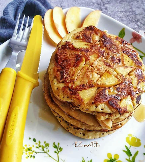 Try this. Almond  And Apple Pancakes for breakfast