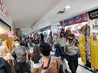 Imbau Warga Patuhi Prokes, Polres Pelabuhan Makassar Ajak Bersatu Lawan Covid 19