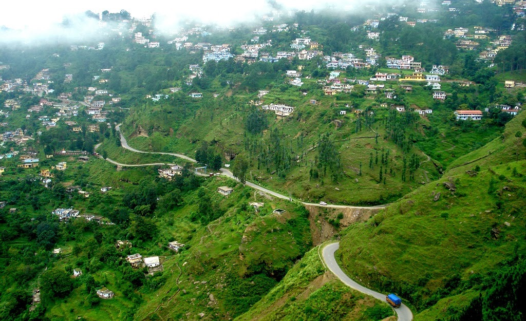 Almora in Kumaon region of Uttarakhand