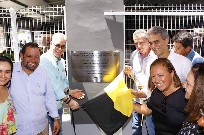 Prefeitura de Cruz das Almas realiza inauguração do novo Mercado Municipal
