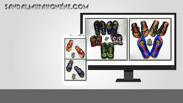 Pabrik Sandal Pria Murah INDONESIA- AMX CMR Spon DWS