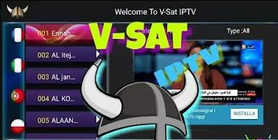 تحميل تطبيق v-sat لمشاهدة الافلام و القنوات  v-sat apk 2021