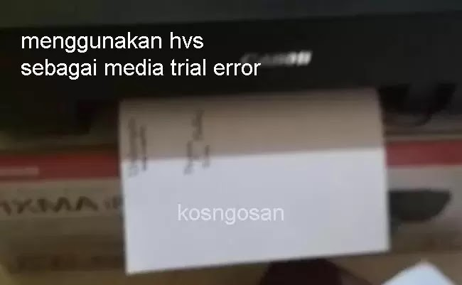hvs kertas trial error undangan