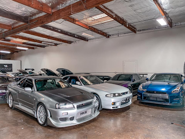 Nissan Skyline GT-R for sale at Toprank Importers. And an R35 GT-R