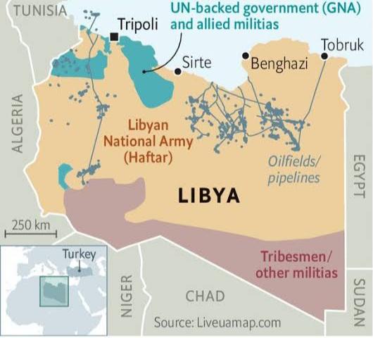 Komisi Militer Gabungan Libya ''berembuk'' Upaya Damai