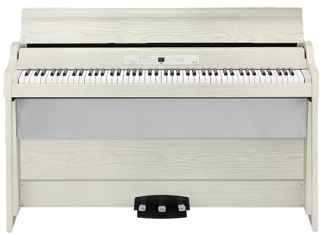 Korg G1 Air - off-white Ash wood-grain finish