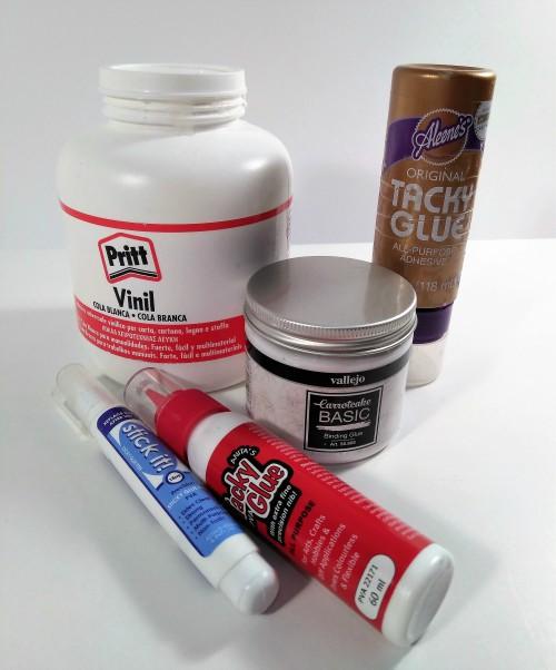 Tacky glue, CarrotCake, Cola Pritt, Colas para usar en nuestros trabajos de scrapbooking