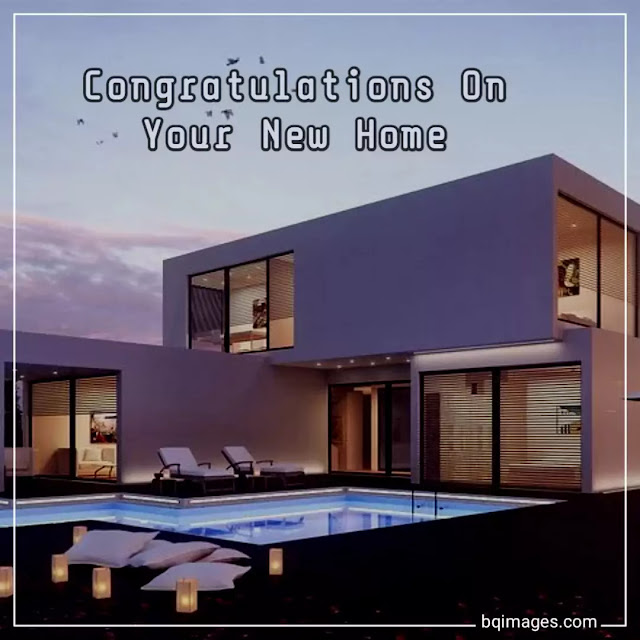 congratulation new home