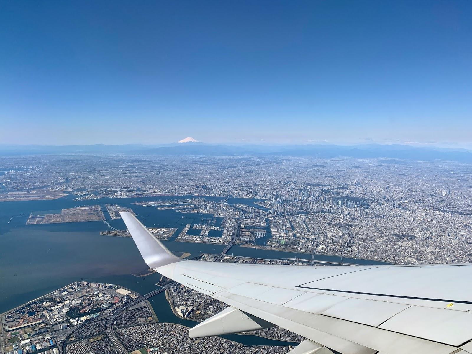 Tokyo with Mt.Fuji