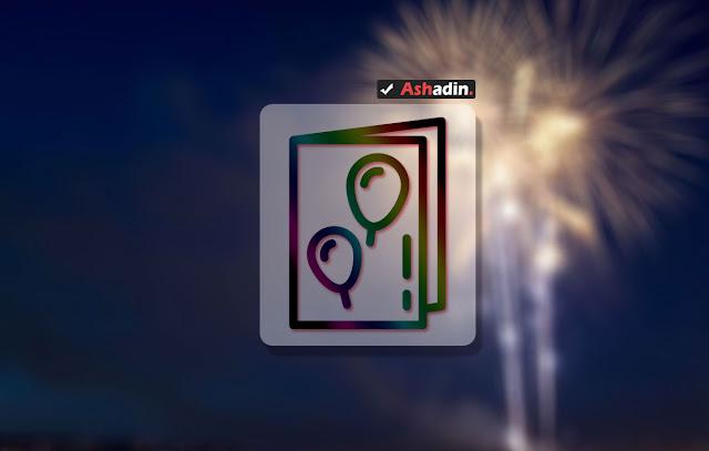 Cara membuat gambar/kartu ucapan dengan Abode Photoshop terlengkap dan termudah
