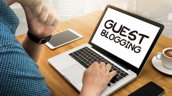 guest blogging business backlinks link building blog posts