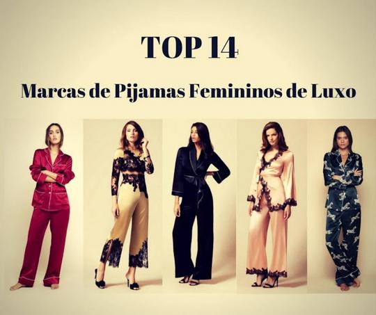 Top 14 Marcas de Pijamas Femininos de Luxo