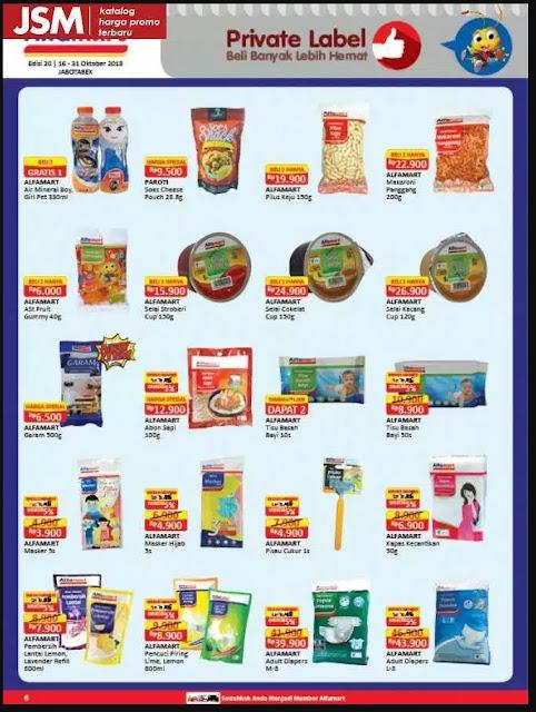Katalog Alfamart 16-31 Oktober 2018 hal 6
