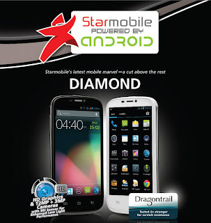 Starmobile Diamond Android Phone in HD Graphics