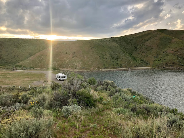 Sublett Reservoir Idaho Boondocking Free Camping Idaho
