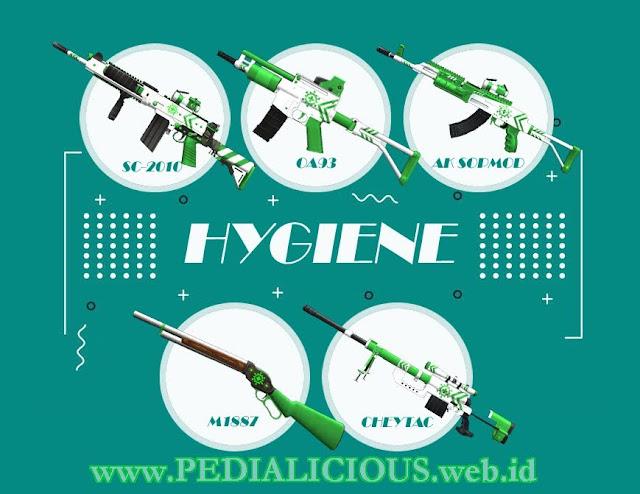 Harga & Statistik Seri Hygiene Senjata Point Blank