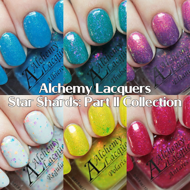 Alchemy Lacquers Star Shards: Part II Collection