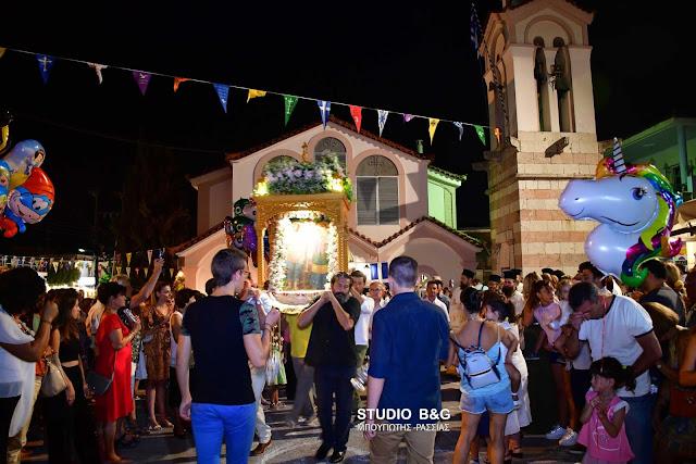 Η Εορτή των Αγίων Αδριανού και Ναταλίας στο Δρέπανο Αργολίδος (βίντεο)