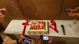 LOCAL10周年記念ケーキ