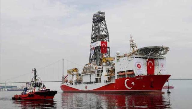 Turquía desafia a Europa y envía un tercer barco