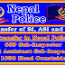 Transfer of 689 SI, 872 ASI and 1058 HC of Nepal Police