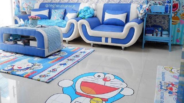 Rumah Serba Doraemon Untuk Ruang Tamu Taua Raung Keluarga