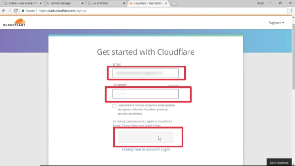 Cloudflare Login