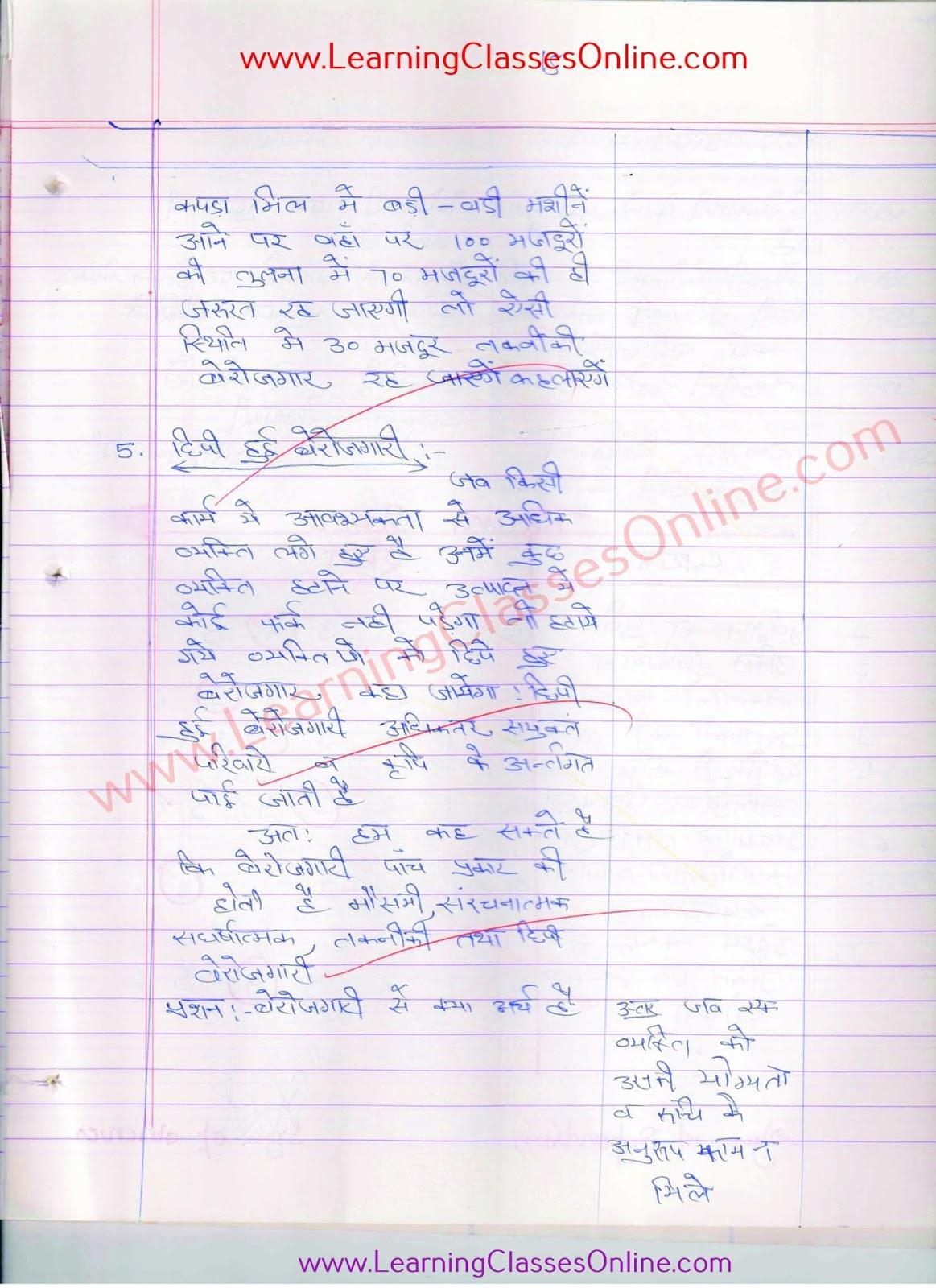 economics lesson plan file b.ed, skill of explanation ( vyakhyan kaushal paath yojana