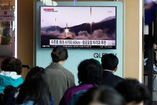 Rudal balistik KN-17 Korea Utara (Korut)