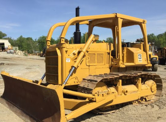 Service Manual Dozer Cat D6D Track-Type Tractor