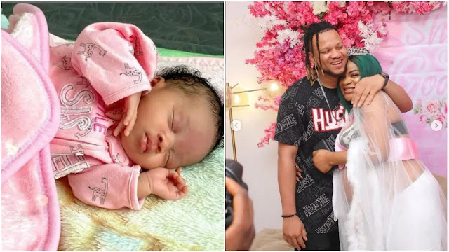 Uche Ogbodo reveals her baby face for the First time (Photos)