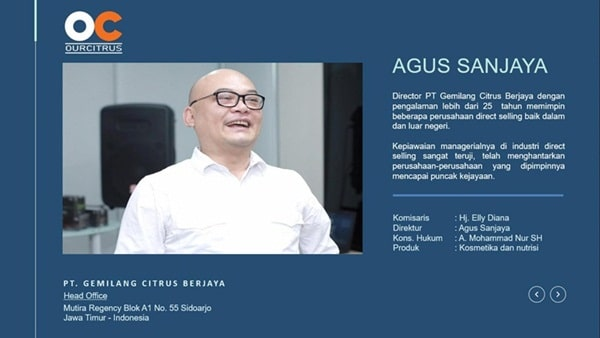 Distributor Ourcitrus Bandung