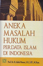 BUKU ANEKA MASALAH HUKUM PERDATA ISLAM DI INDONESIA