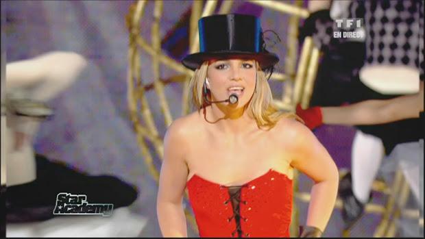 Live Performance Music Videos Britney Spears - Womanizer Star Academy 28-11-2008