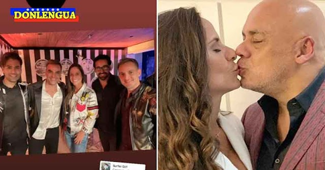 EN EL FONDO DE LOS SANITARIOS   Los Caramelos de Cianuro dieron concierto a la novia de Jorge Rodríguez