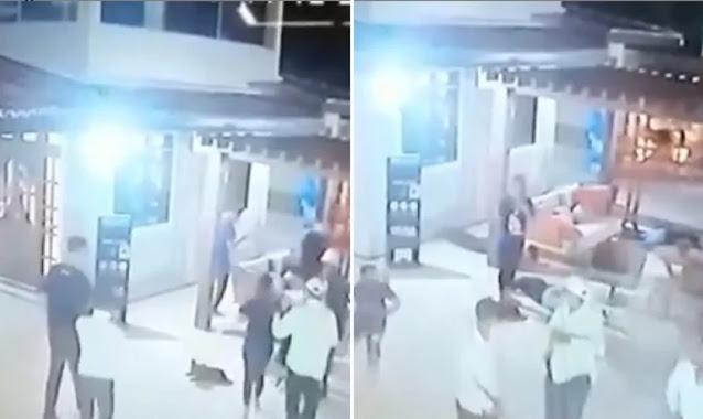 Ladrões fogem e pedem desculpas ao descobrir que vítimas se preparavam para batismo