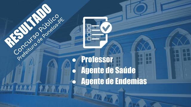 resultado final da prova de títulos e curso de formação para Professores, Agentes de Saúde e Endemias