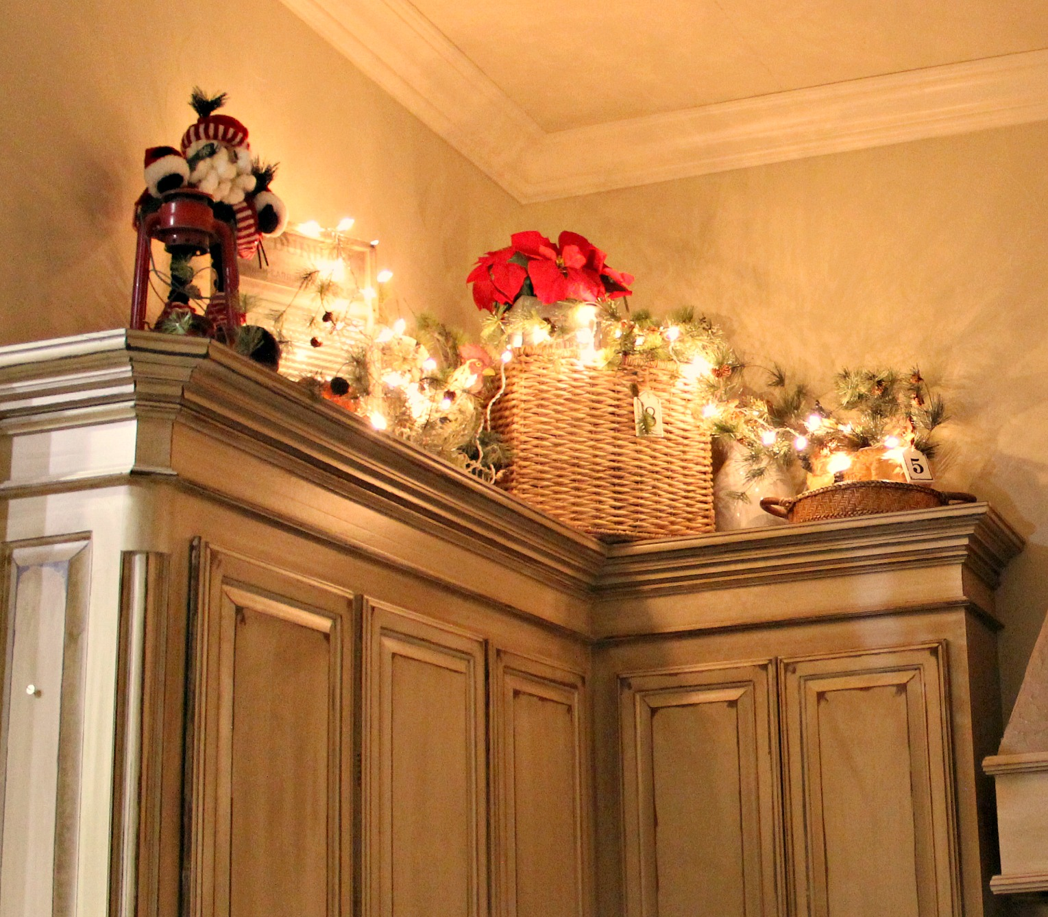 Kitchen Decorations For Above Cabinets: At Rivercrest Cottage: Putting Away Christmas