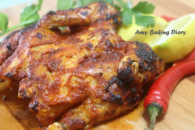 Amy Baking Diary: Portuguese Peri Peri Chicken