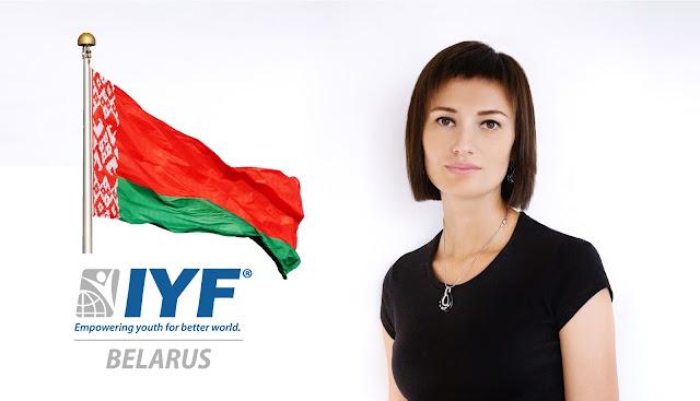Maria KUREK, IYF Representative in Belarus