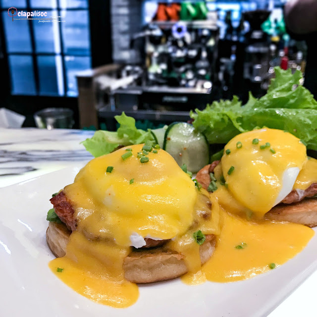 Naughty Eggs Benedict from Grind Bistro