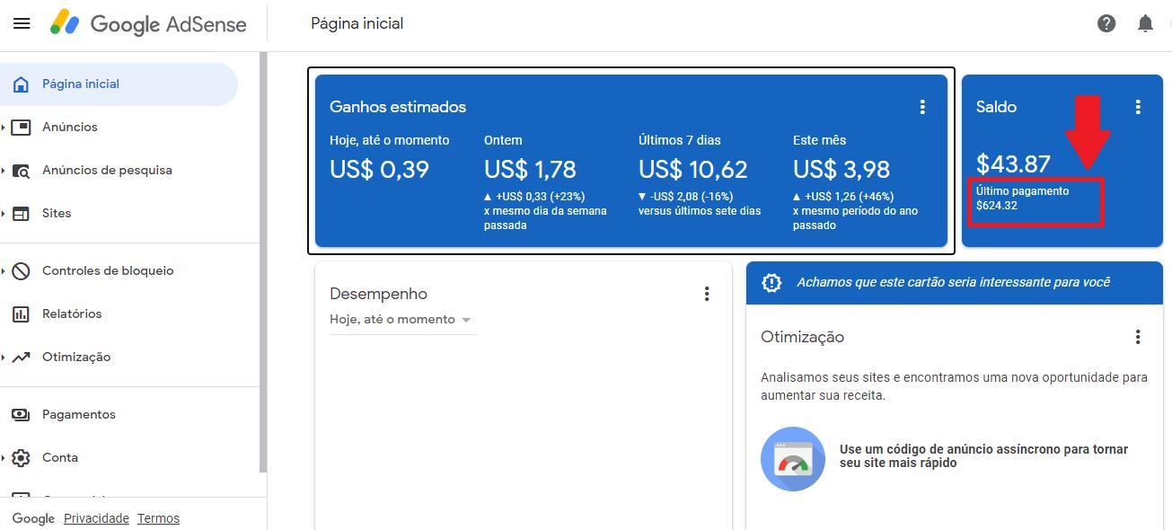 Como receber seu dinheiro do google adsense