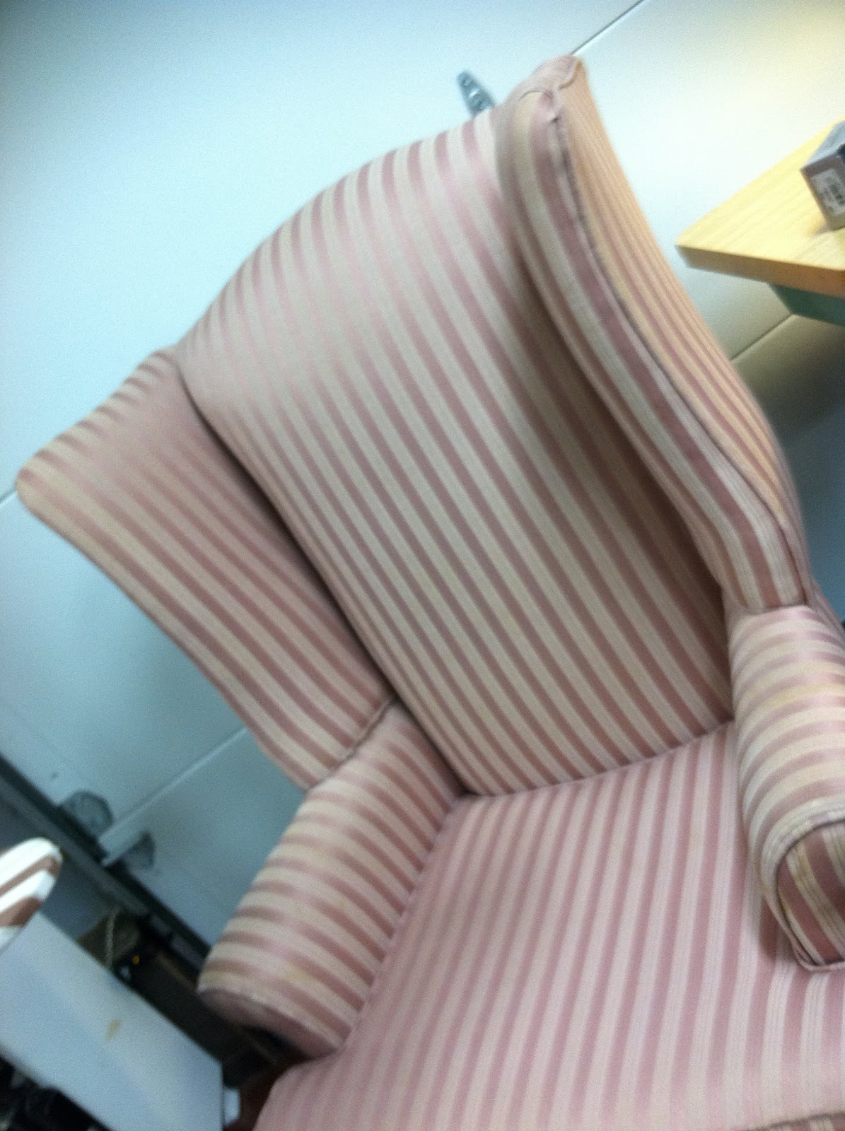 how to make slipcover for wingback chair back jack floor the drapery lady wing instruction