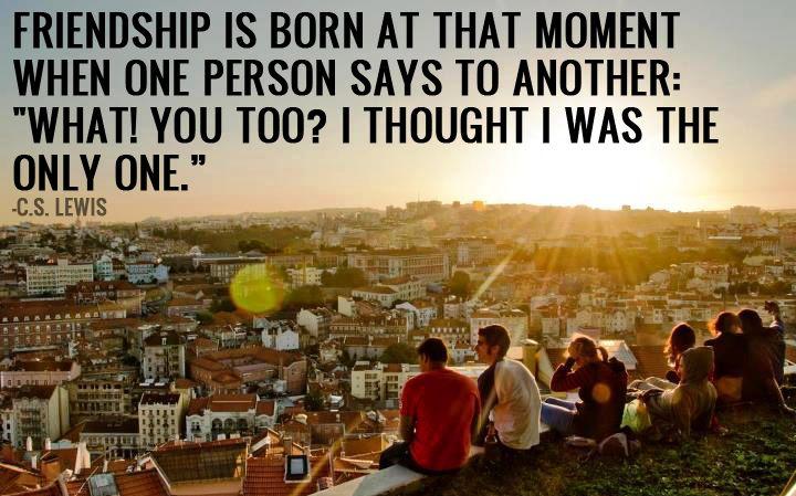 Friendship Quotes Cs Lewis