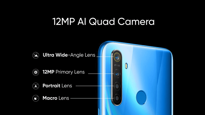 12MP AI quad-camera setup