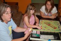 playing bugopoly at a party
