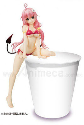 Figura Lala Satalin Deviluke Red Noodle Stopper To Love Ru