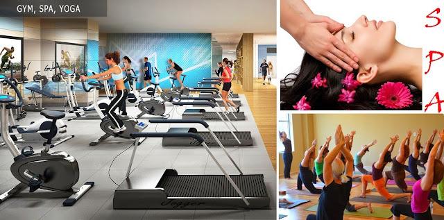 Phòng tập Gym, Spa chung cư Vinhomes West Point