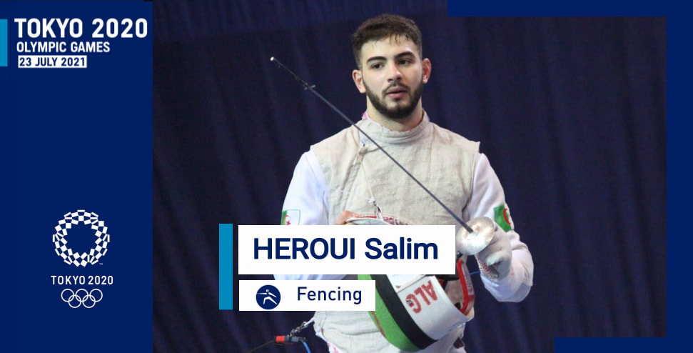 المبارز الجزائري حروي سليم يتأهل إلى الألعاب الأولمبية